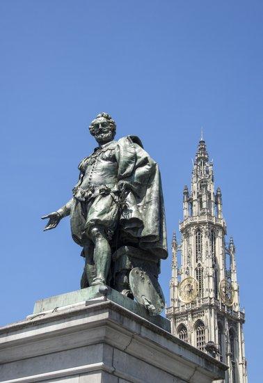 Antwerpen_rubens-groenplaats