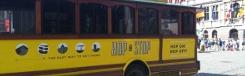 Per hopNstop-bus door Antwerpen